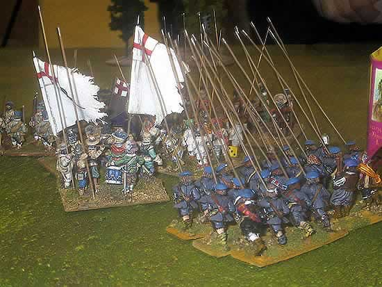 Nick Hart and Durham Wargames Group - 28mm Warhammer English Civl War