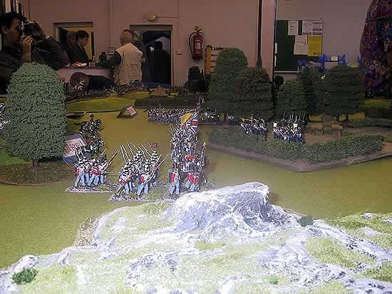 Kirriemuir Wargames Club 28mm Napoleonics